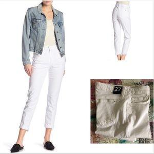 Joe's Jean boyfriend jeans White K02